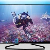 تلویزیون ال ای دی سه بعدی اسمارت 4K فیلیپس TV LED 3D SMART 4K PHILIPS 50PUT8509-بانه