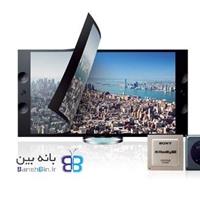 تلویزیون ال ای دی سه بعدی اسمارت 4kسونی SONY BRAVIA 4k KD- 55X9004-بانه