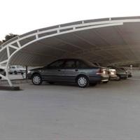 سایبان پارکینگ upvc
