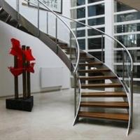 تولید انواع پله دوبلکس و ویلایی آذر استپ