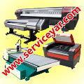 خدمات نصب و سرویس دستگاههای چاپ ، لیزر ، سی ان سی و کاتر پلاتر