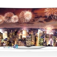 تلویزیون ال ای دی فورکا منحنی ال جی LG CURVED OLED TV 55EC930T-بانه