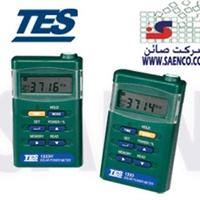 سولار پاورمتر,سولارمتر, تشعشع سنج , پیرانومتر,مدلTES-1333R ,ساخت کمپانی TES تایوان - قابلیت انتخاب W/m2 یا Btu/(ft2×h)