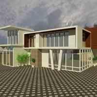 انجام پروژه های معماری توسط نرم افزار 3dmax بالاترین کیفیت و نازل ترین قیمت