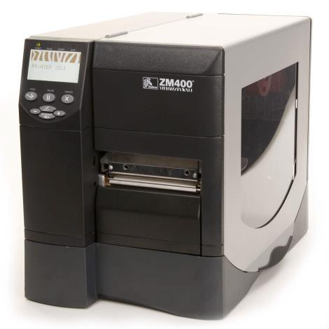 لیبل پرینتر زبرا مدل Label Printer Zebra ZM400- شرکت سپاکو