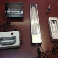 انواع چراغ و  لامپهای یووی