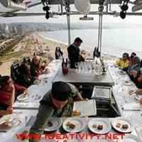 سرمایه گذاری در ساخت رستوران معلق