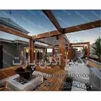 طراحی و اجرای امواع آلاچیق و پرگولا چوبی،فلزی،سنگی و...