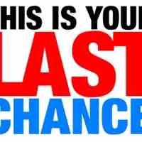 آخرین شانس در دقیقه نود