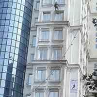پیچ و رولپلاک سنگ نما.رنگ نمای ساختمان