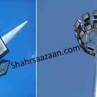 تولید و نصب انواع پایه چراغ ، پایه دوربین، پایه پرچم و برج نوری