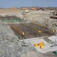 اجرای انواع سازه های بتنی،پل،کانال،دیوار...