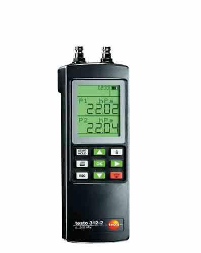 فشارسنج لوله های گاز مدل TESTO 312-2,3