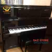 فروش پیانو برگمولر UP132 مشکی پولیش - سالار غلامی