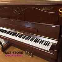 فروش پیانو برگمولر UP126 گردویی مات - سالار غلامی