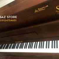 فروش پیانو برگمولر UP121 گردویی مات - سالار غلامی