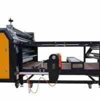 دستگاه کلندر چاپ پارچه به صورت رول