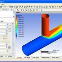 آموزش نرم افزار تخصصی فلوانت  Gambit- Fluent ویژه رشته های  مهندسی مکانیک و مهندسی شیمی