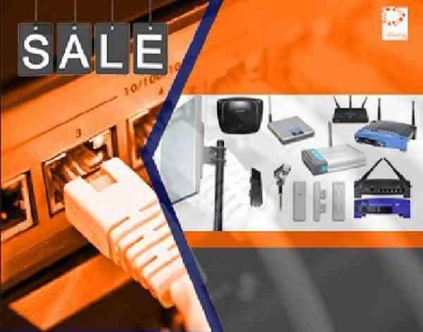 فروش کلیه تجهیزات شبکه کامپیوتر