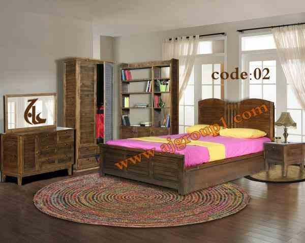 جدیدترین سرویس خواب چوبی