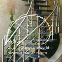 نرده استیل،پله اسپیرال،درب استیل،برنزی وآلومینیومی