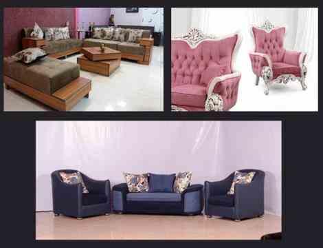 انواع مبل راحتی و مبل کلاسیک 09128375797