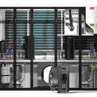 طراحی و تامین تجهیزات سیستم سرمایش دیتا سنتر، خنک کننده اتاق سرور