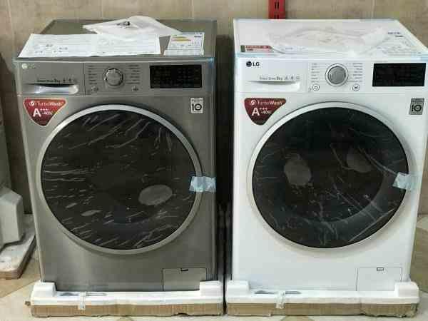 لباسشویی ال جی 8 کیلو مدل J6