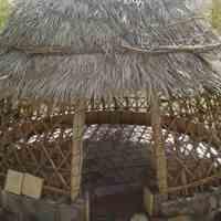 آلاچیق سازان سنتی چوبی نخل خرما