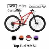 فروش دوچرخه حرفه ای Trek fuel ex  مدل ۲۰۱۴