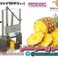آناناس پوستکن صنعتی