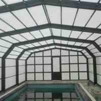 سقف متحرک پلی کربنات