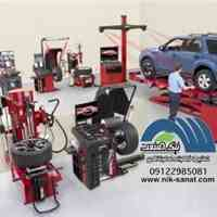 فروش شرایطی انواع تجهیزات تعمیرگاهی خودروهای سبک و سنگین