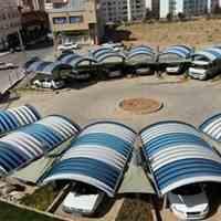 ساخت پارکینگ های جدید زیبا و ارزان