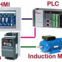 تعمیرات انواع اینورتر و سافت استارتر PLC  HMI
