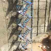پله داربستی با مونتاژ آسان و امنیت بالا