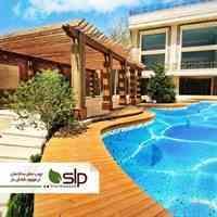 ترمووود SLP چوب نمای ساختمان