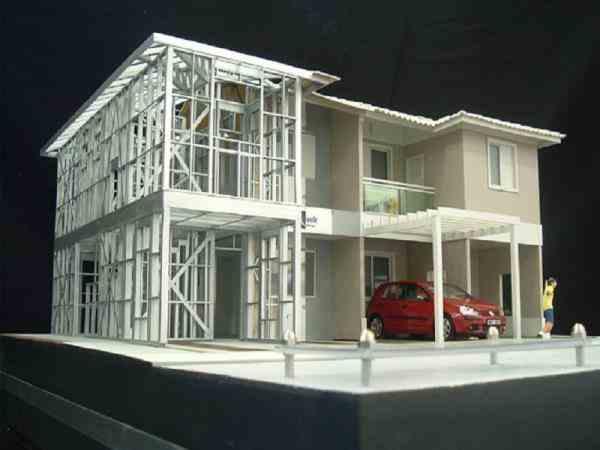 طراحی تولید واجرای سازهlsf آتناسازه