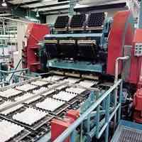 ساخت خط تولید شانه تخم مرغ زن