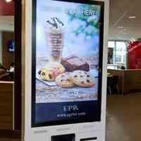 کیوسک سفارش گیر با کاربرد اختصاصی برای بستنی فروشی ها و قنادی ها