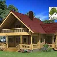 انواع ویلا های چوبی و کلبه های چوبی