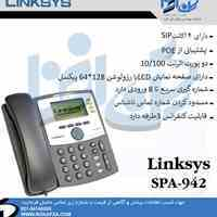 فروش گوشی تلفن تحت شبکه لینکسیس مدل SPA-942