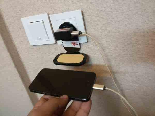 سکوی شارژ موبایل