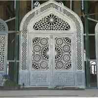 ساخت پنجره و درب فلزی مسجدی