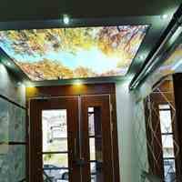 سقف کشسان باریسول و کاذب و کفپوشهایه اپوکسی سه بعدی