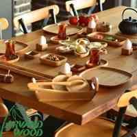 فروشگاه ظروف چوبی