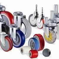 انواع چرخ های ثابت و گردان و چرخ های صنعتی