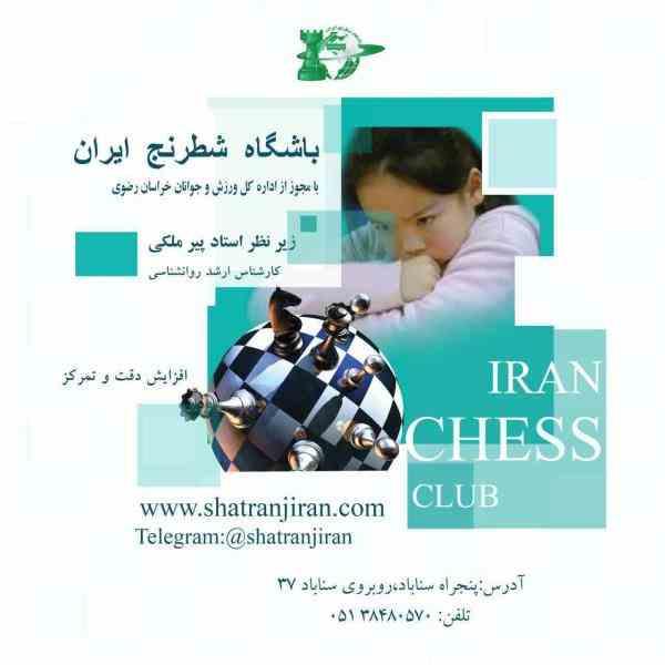 کلاس آموزش شطرنج در خانه و مدرسه