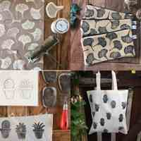 آموزش چاپ دستی روی پارچه و چرم