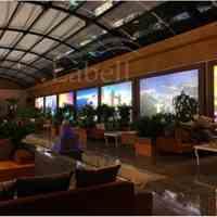 مشاوره و طراحی و اجرای سقف کشسان لابل ویزه ی فودکورتها، رستورانها، کافی شاپها و ...